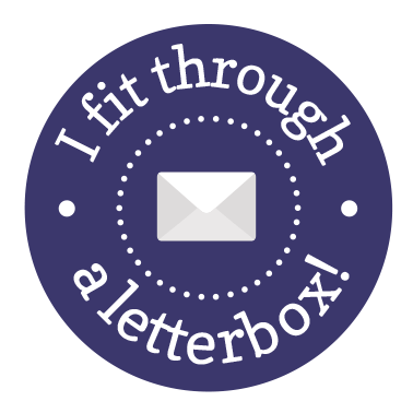 I fit through a letterbox!