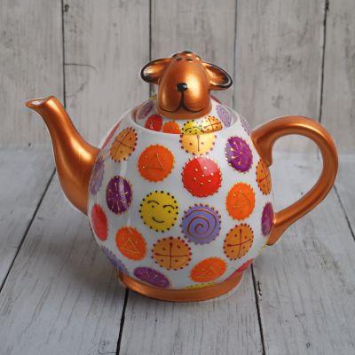 Hand Painted Sheep Teapot