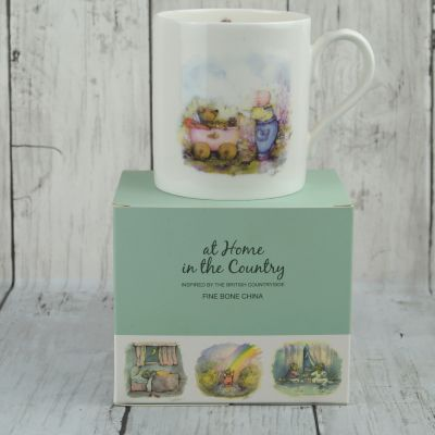 Bear and Pram Fine Bone China Mug