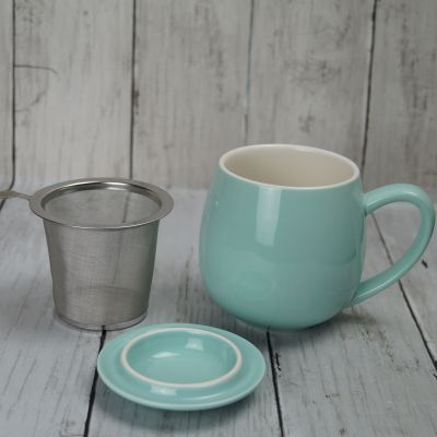 Sky Blue Infuser Mug