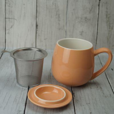 Apricot Infuser Mug